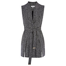Buy Coast Likka Sleeveless Jacket, Grey Online at johnlewis.com