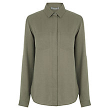 Buy Oasis Soft Cotton Shirt Online at johnlewis.com