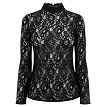 Buy Oasis Lace Turtle Top Online at johnlewis.com