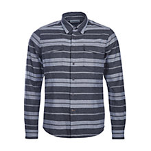 Buy Barbour Torne Blank Stripe Shirt, Charcoal Online at johnlewis.com