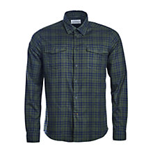 Buy Barbour Molden Tailored Fit Check Shirt, Forest Online at johnlewis.com