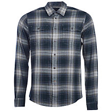 Buy Barbour Anderby Tailored Fit Check Shirt, Forest Online at johnlewis.com