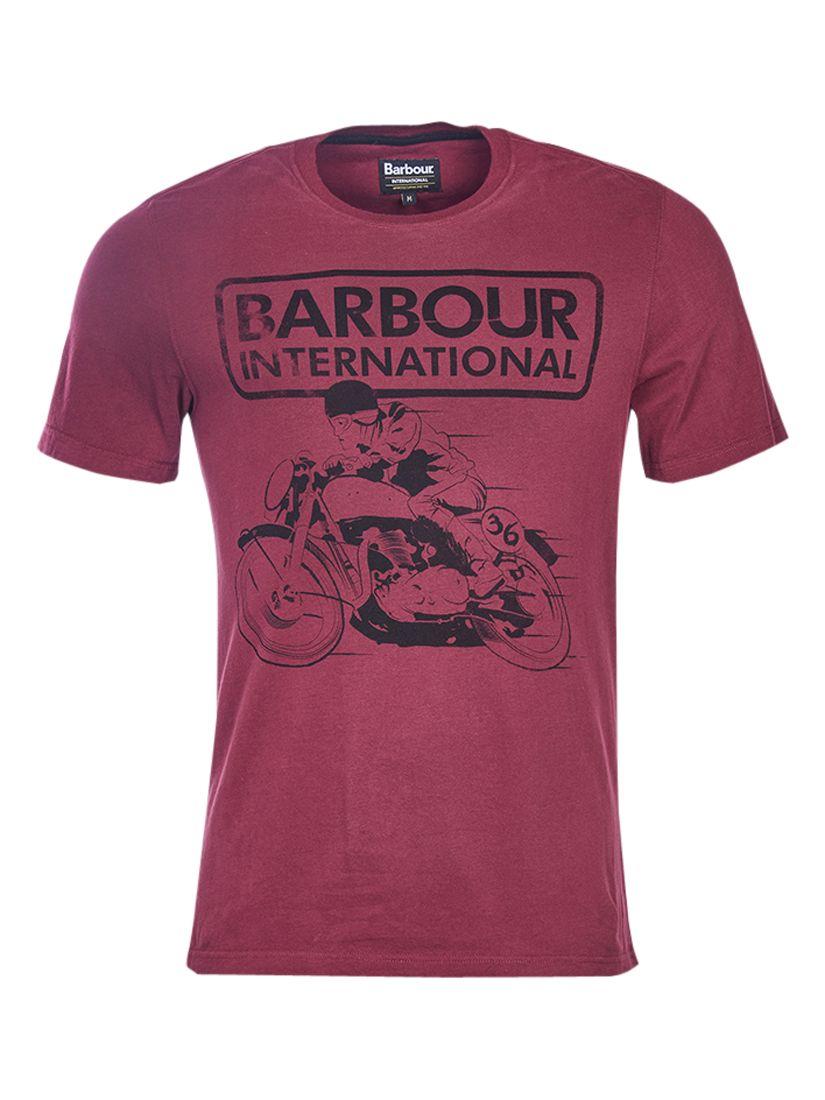 Barbour International Barbour International Valve Motorbike T-Shirt, Port