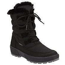 Buy John Lewis Antarctica Water Repellent Snow Boots, Black Online at johnlewis.com