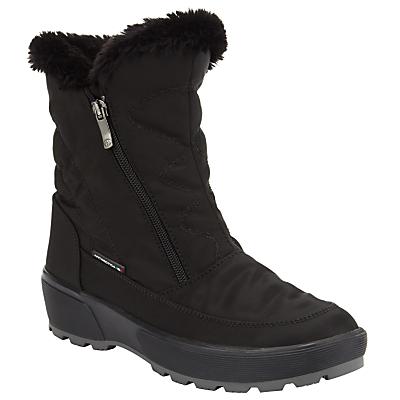 John Lewis Alaska Water Repellant Ankle Boots, Black