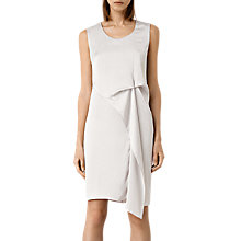 Buy AllSaints Ultra Dress, Storm Grey Online at johnlewis.com