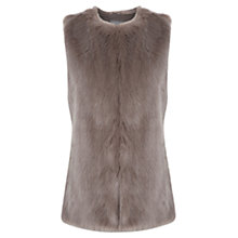 Buy Oasis Faux Fur Gilet Online at johnlewis.com