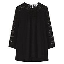 Buy Gerard Darel Love Blouse, Black Online at johnlewis.com