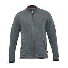 Buy Ted Baker Ristoro Knitted Jacket, Charcoal Online at johnlewis.com