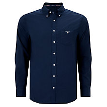 Buy Gant Plain Broadcloth Regular Button Down Shirt Online at johnlewis.com