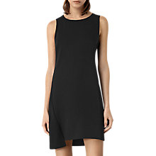 Buy AllSaints Tara Dress, Black Online at johnlewis.com