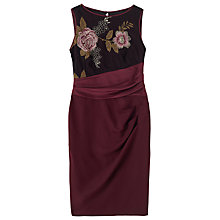 Buy Precis Petite Ashley Satin Skirt Dress, Multi Online at johnlewis.com