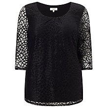 Buy Studio 8 Jerry Top, Black Online at johnlewis.com