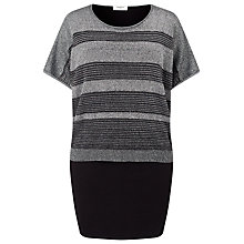 Buy Studio 8 Riley Dress, Black/Silver Online at johnlewis.com