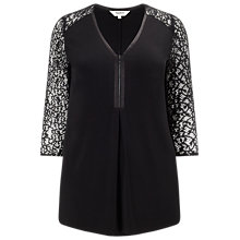Buy Studio 8 Daria Top, Black Online at johnlewis.com