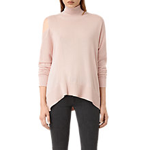 Buy AllSaints Cecily Jumper, Pink Online at johnlewis.com
