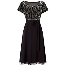 Buy Studio 8 Kerry Dress, Black/Silver Online at johnlewis.com