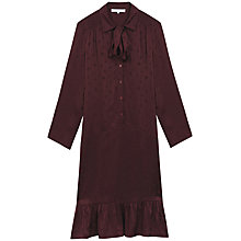 Buy Gerard Darel Janis Dress, Dark Red Online at johnlewis.com
