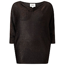 Buy Studio 8 Beth Batwing Jumper, Bronze Online at johnlewis.com