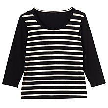Buy Precis Petite Charmaine Stripe Jumper, Multi Online at johnlewis.com