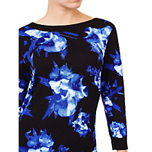 Buy Precis Petite Carlotta Print Jumper, Multi/Black Online at johnlewis.com