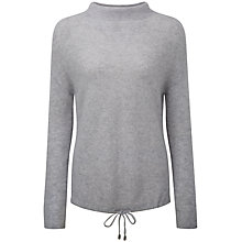 Buy Pure Collection Aaliyah Cashmere Jumper, Heather Dove Online at johnlewis.com
