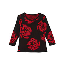 Buy Precis Petite Caroline Print Jumper, Multi Online at johnlewis.com