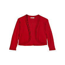 Buy Precis Petite Mackenzie Knitted Shrug, Mid Red Online at johnlewis.com