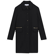 Buy Gerard Darel Tomboy Coat, Navy Blue Online at johnlewis.com