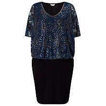 Buy Studio 8 Roselle Dress, Navy/Black Online at johnlewis.com
