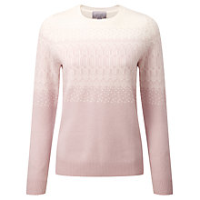 Buy Pure Collection Gracie Cashmere Jumper, Oyster/Soft White Online at johnlewis.com