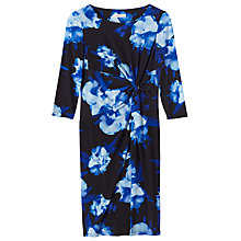 Buy Precis Petite Carlotta Print Dress, Multi/Black Online at johnlewis.com