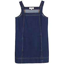Buy Fat Face Lyla Denim Dress, Dark Denim Online at johnlewis.com