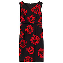 Buy Precis Petite Caroline Print Dress, Red Online at johnlewis.com