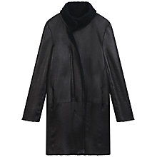 Buy Gerard Darel Rome Reversible Coat, Midnight Blue Online at johnlewis.com