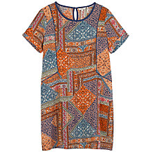 Buy Fat Face Ruby Moroccan Patch Dress, Multi Online at johnlewis.com