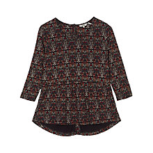 Buy Fat Face Penny Morris Peplum Top, Multi Online at johnlewis.com