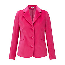 Buy Helene For Denim Wardrobe Velvet Blazer Online at johnlewis.com