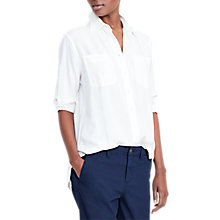 Buy Lauren Ralph Lauren Alishia Shirt, Ivory Online at johnlewis.com