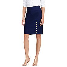 Buy Lauren Ralph Lauren Enchanta Straight Skirt Online at johnlewis.com