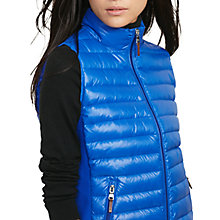 Buy Lauren Ralph Lauren Soft Down Zip Front Vest, Royal Blue Online at johnlewis.com