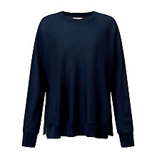 Buy Samsoe & Samsoe Darci Merino Wool Jumper, Dark Sapphire Online at johnlewis.com