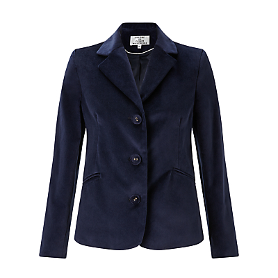 Helene For Denim Wardrobe Velvet Blazer