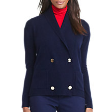 Buy Lauren Ralph Lauren Jaha Wool-Cashmere Cardigan, Navy Online at johnlewis.com