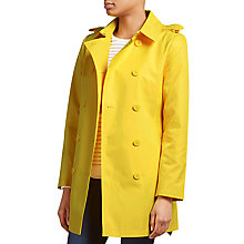 Buy Lauren Ralph Lauren Double-Breasted Coat, Coastal Yellow Online at johnlewis.com