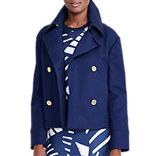 Buy Lauren Ralph Lauren Justan Double Breasted Jacket, Navy Online at johnlewis.com