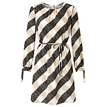 Buy Marella Terzo Check Dress, Cream Online at johnlewis.com