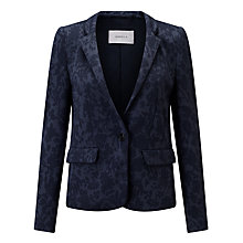 Buy Marella Delfina Jacquard Blazer, Navy Online at johnlewis.com