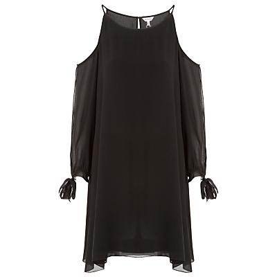 Max Studio Cold Shoulder Dress, Black