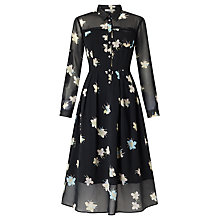 Buy Marella Vanna Floral Print Dress, Black Online at johnlewis.com